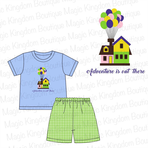 UP Applique Boy Set