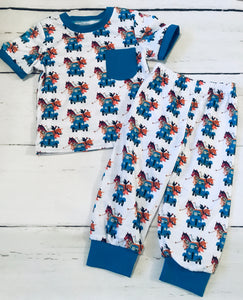 Little Blue Truck Pajamas