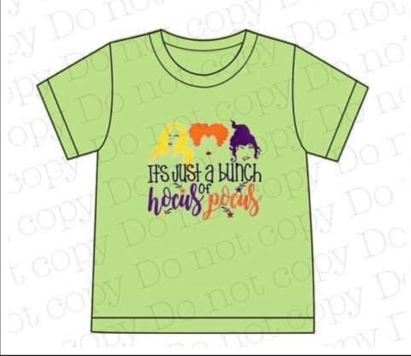 Hocus Pocus Applique Boy Shirt