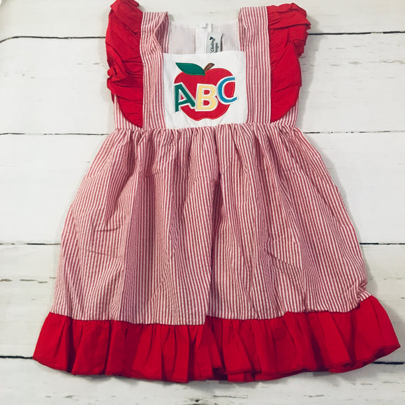 ABC Applique Dress