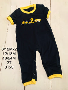 Construction Romper