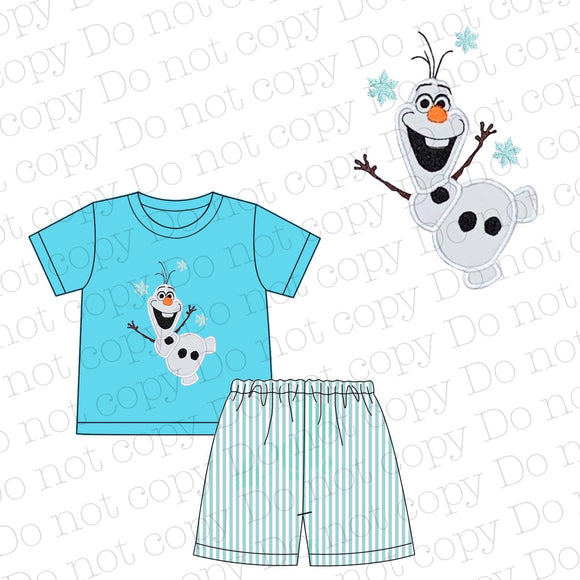 Frozen Appliqué Boy Set - ETA mid May