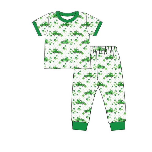 Shamrock Truck Pajamas - ETA early February