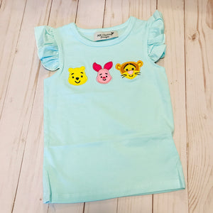 Pooh Girl Applique Shirt