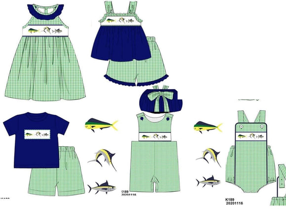 Deep Sea Smocked Collection PO17.5 - ETA early May