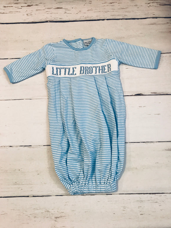 Little Brother Smocked Gown