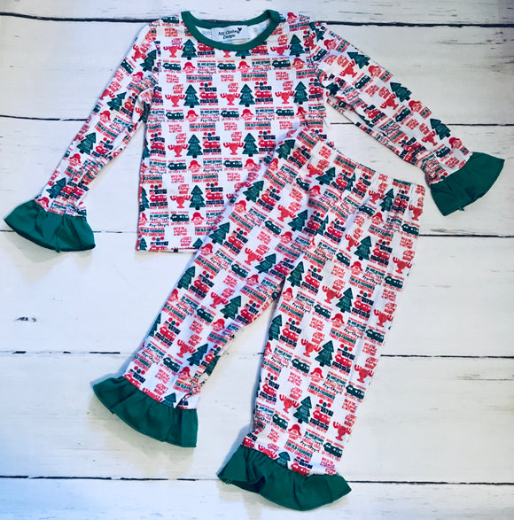 Christmas Vacation Girl Pajamas