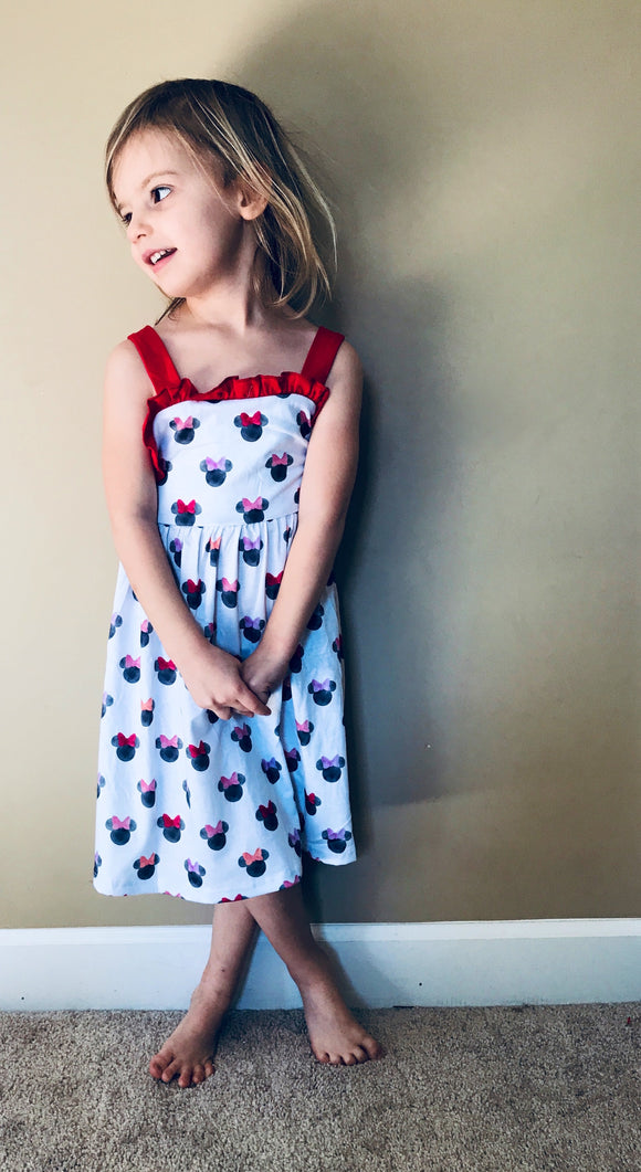 Minnie Watercolor Dress