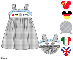 EPCOT Smocked Dress PO11 Extras - ETA mid September