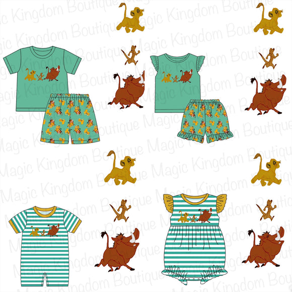 Lion King Appliqué Collection