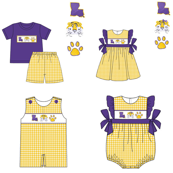 LSU Appliqué Collection - WS1