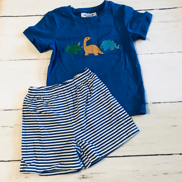 Dinosaur Embroidered Boy Set