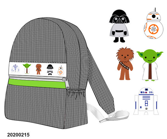 Star Wars Large Smocked Backpack - ETA early May