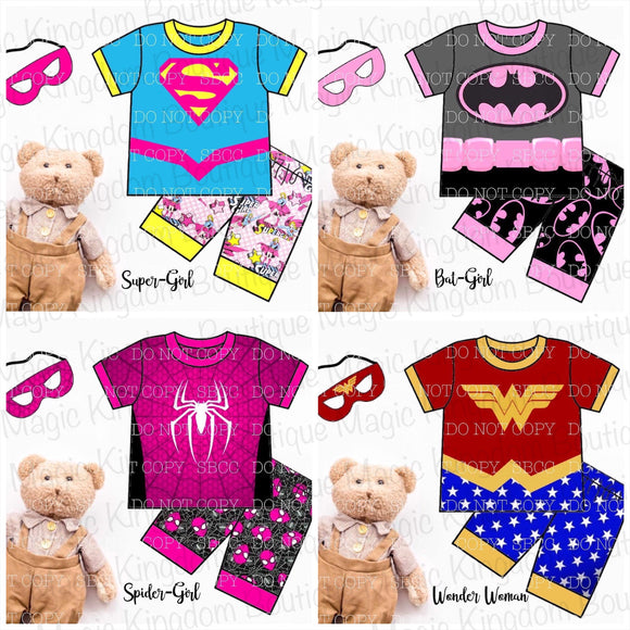 Supergirl Pajamas Collection - ETA late August