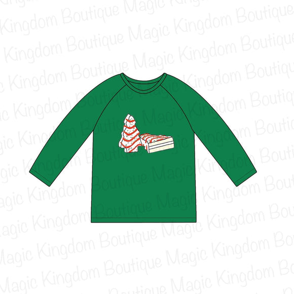 Christmas Cakes Adult Shirt - ETA late October