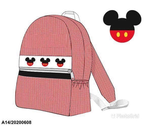 Mickey Smocked Backpack (no name) PO20 - ETA late July