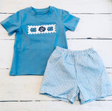 UNC Appliqué Boy Set
