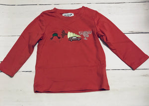 Christmas Vacation Appliqué Boy Shirt