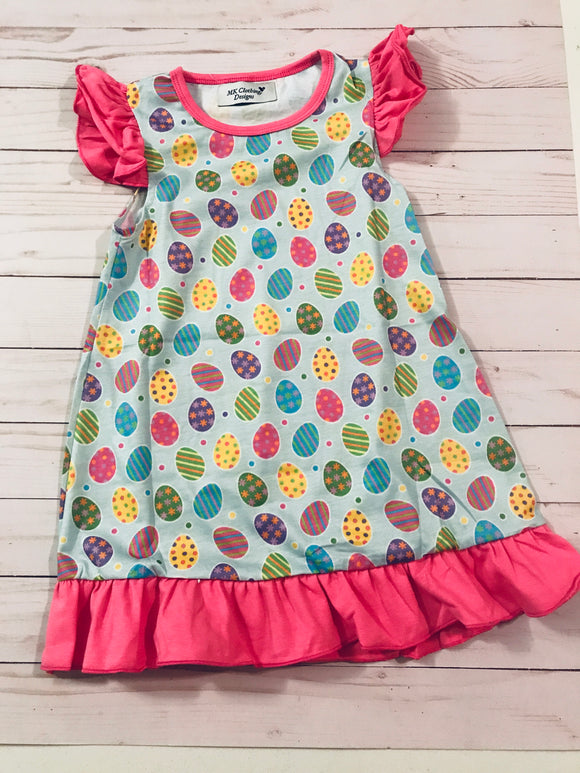 Easter Egg Girl Nightgown