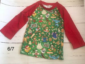 Disney Christmas Cookie Shirt
