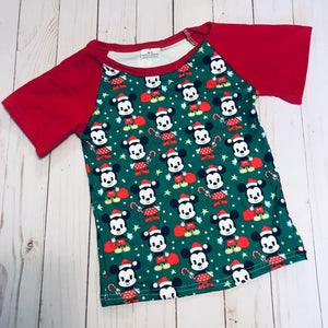 Disney Christmas Raglan