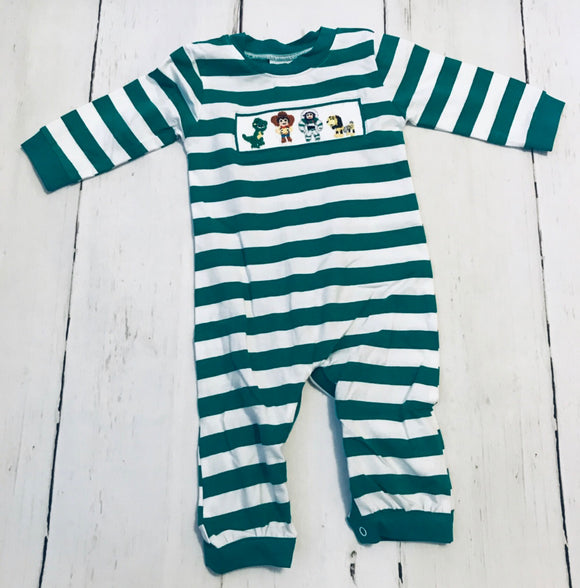 Toy Story Smocked Boy Romper