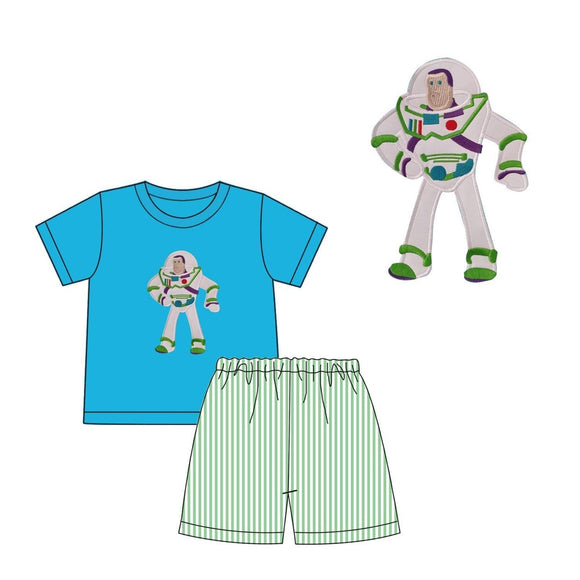 Buzz Applique Short Set - ETA early December