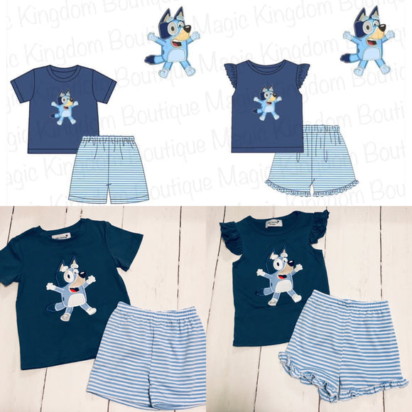 Bluey Appliqué Sets - ETA mid May