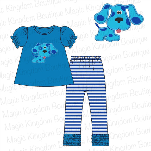 Blues Clues Applique Girl Set Extras - ETA early September