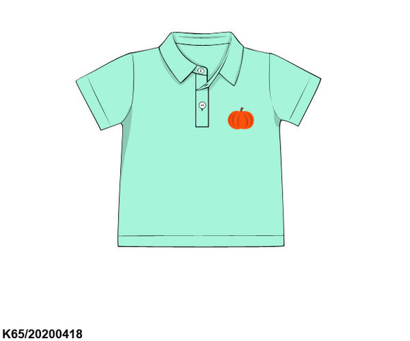Mint Pumpkin Polo