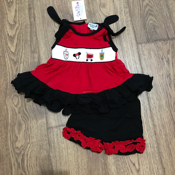 Favorite Things Smocked Girl Set