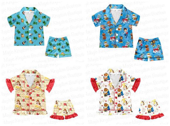 Character Pajamas Collection - ETA late August