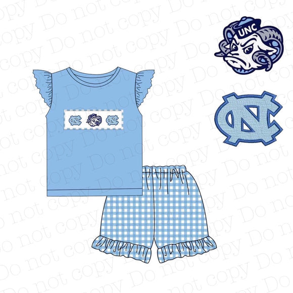 UNC Appliqué Girl Set - ETA mid May