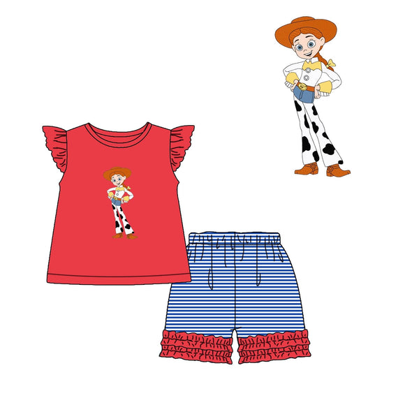 Jessie Applique Short Set - ETA early December