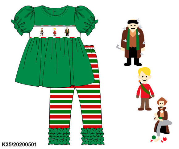 Home Alone Smocked Girl Set PO13 Extras - ETA mid November