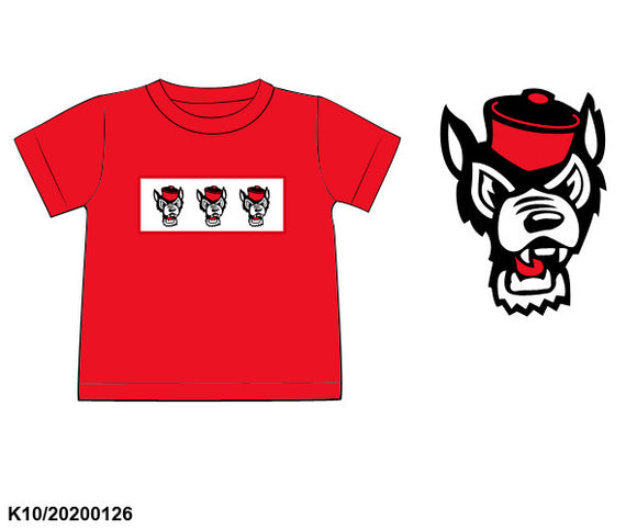NC State Smocked Shirt - ETA early May