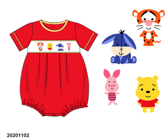 Pooh Smocked Bubble PO17