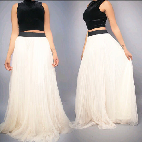 Angelic Flare Skirt - Yummiflavors Boutique