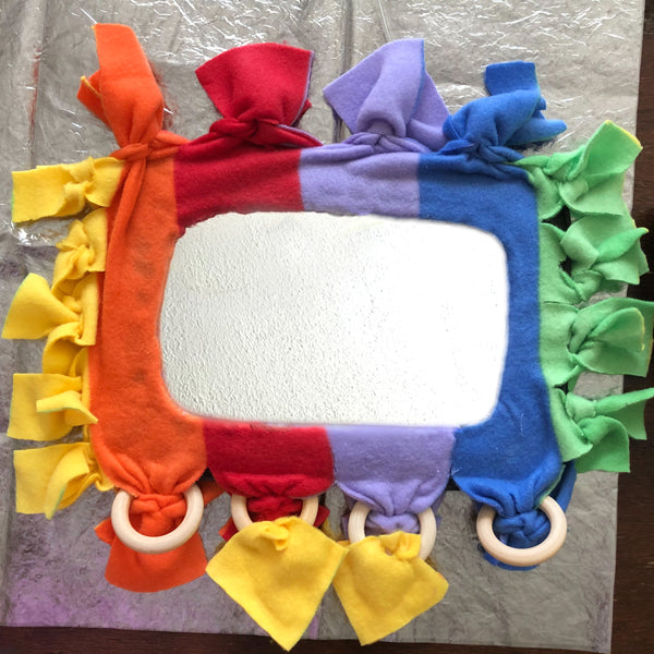Crafting Your Upcycled Baby Mirror