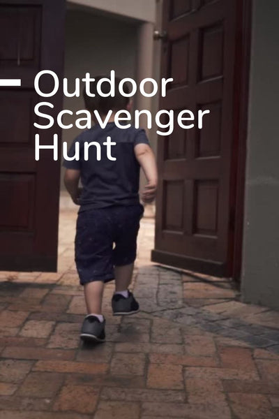 Outdoor Scavenger Hunt: Printable