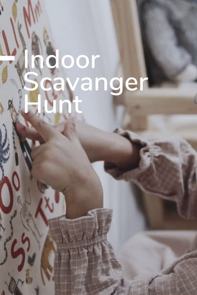 Indoor Scavenger Hunt: Printable