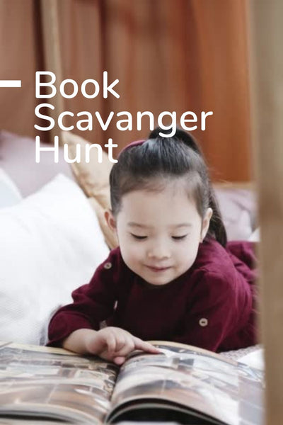 Book Scavenger Hunt: Printable