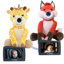 Load image into Gallery viewer, Preorder zooby kin Two Complete Sets- Fox and Giraffe & FREE gift - infanttech