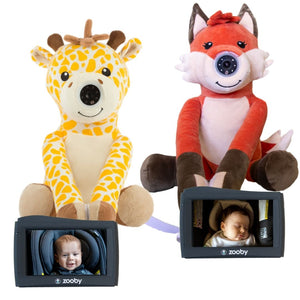 Preorder zooby kin Two Complete Sets- Fox and Giraffe & FREE gift - infanttech
