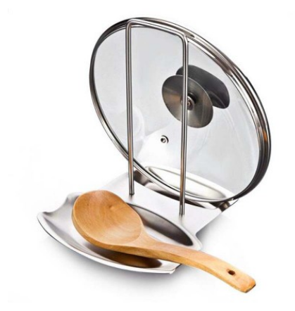 Multifunctional Stainless Steel Pot Lid Rack - DonaldELIZABETH