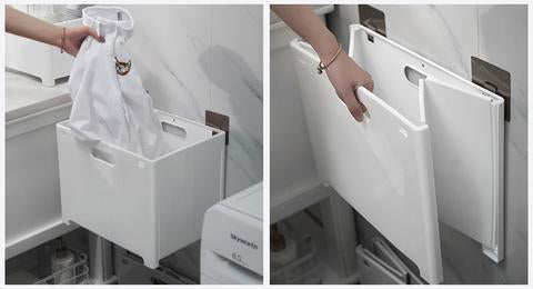 Foldable Dirty Clothes Storage Box (with 2 Sticker) - DonaldELIZABETH