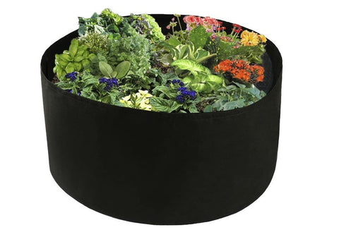 Fabric Raised Planting Bed - Just Unfold, Fill and Grow - DonaldELIZABETH