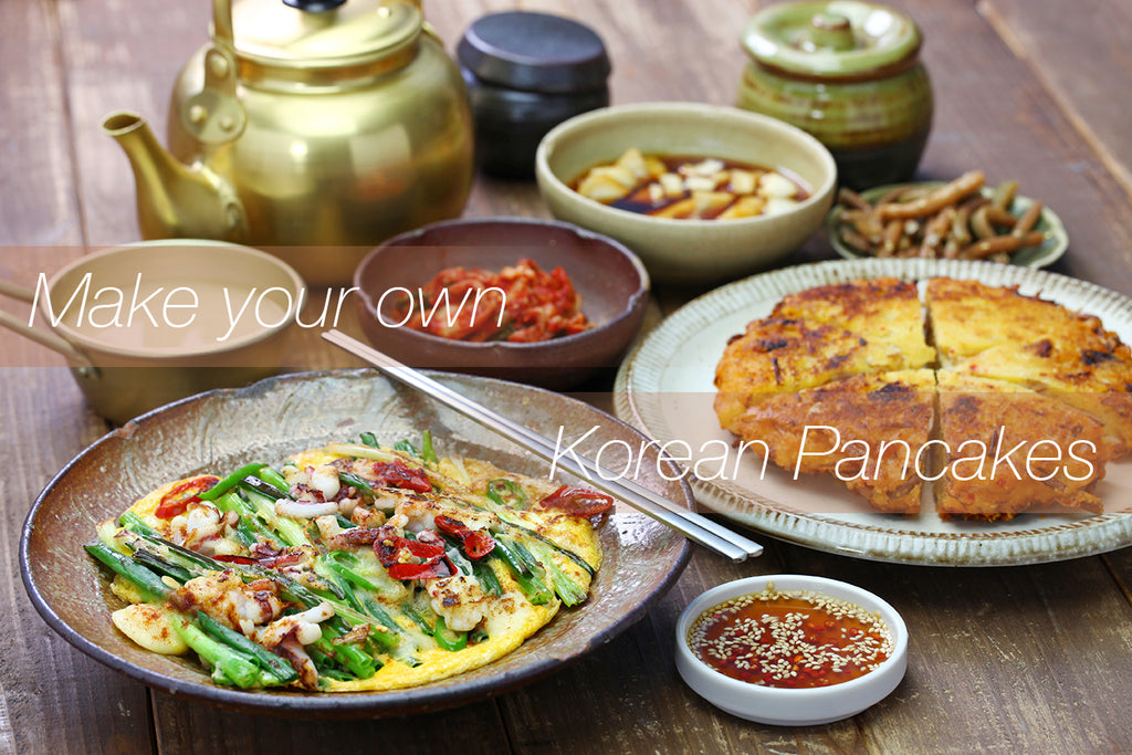 Make your own and find your best favorite 'Buchimgae' or 'Jeon'