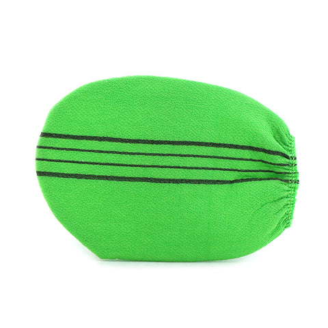 I love my spa Scrub Glove Green