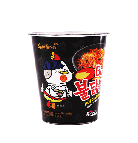SAMYANG Buldak Hot Chicken Flavor Ramen (Small Cup) 70g (2.47oz)